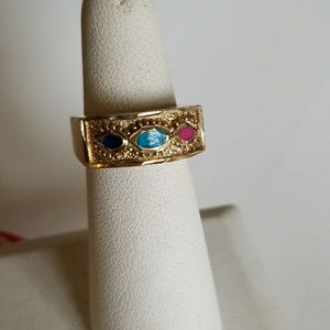 3 colors ring size 7